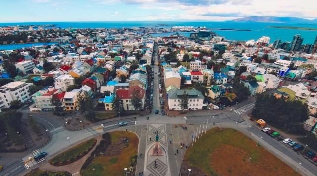 Reykjavik, the capital of Iceland