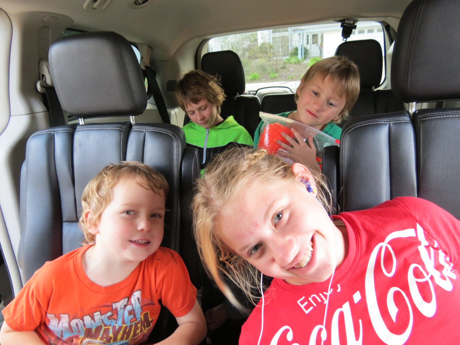 Road Trip Keeping The Kids Happy