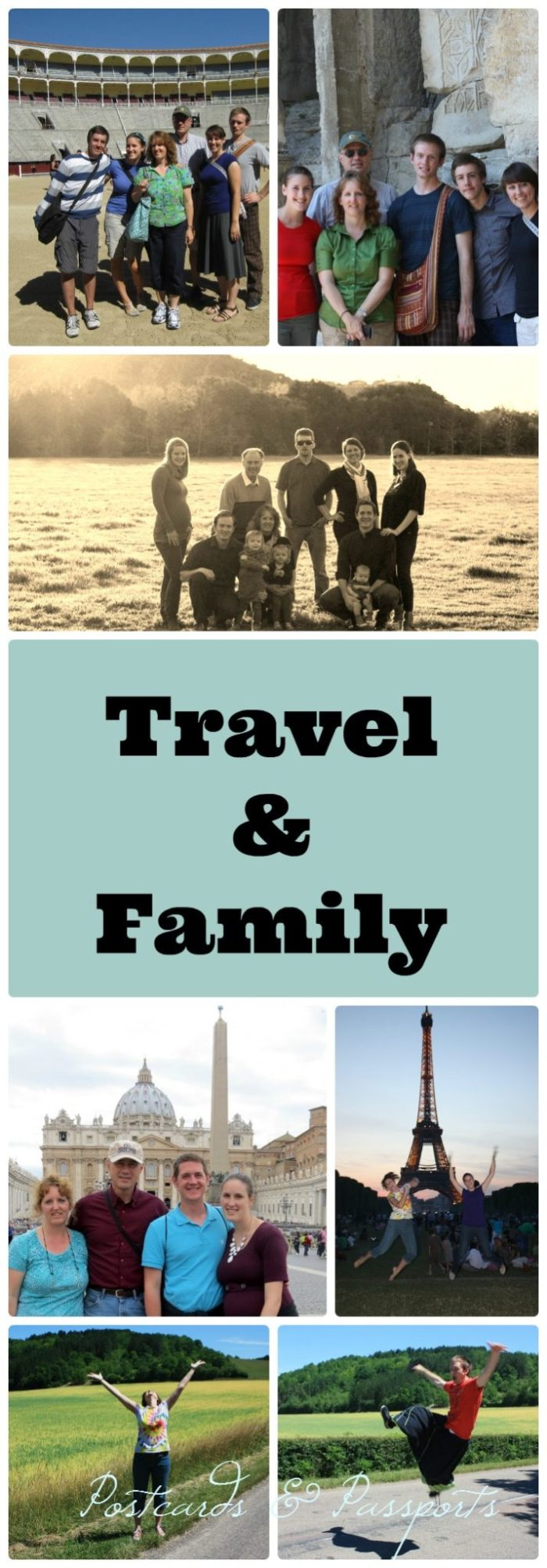 travel and family go hand in hand