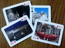 Vatican souvenir cards