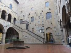 Bargello courtyard