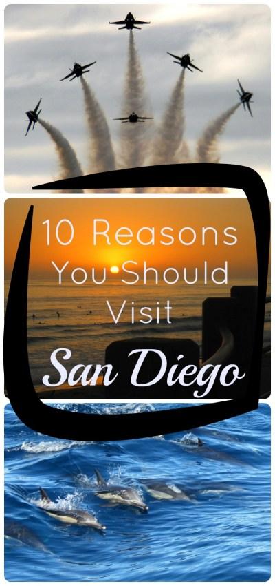 10 reasons to visit San Diego