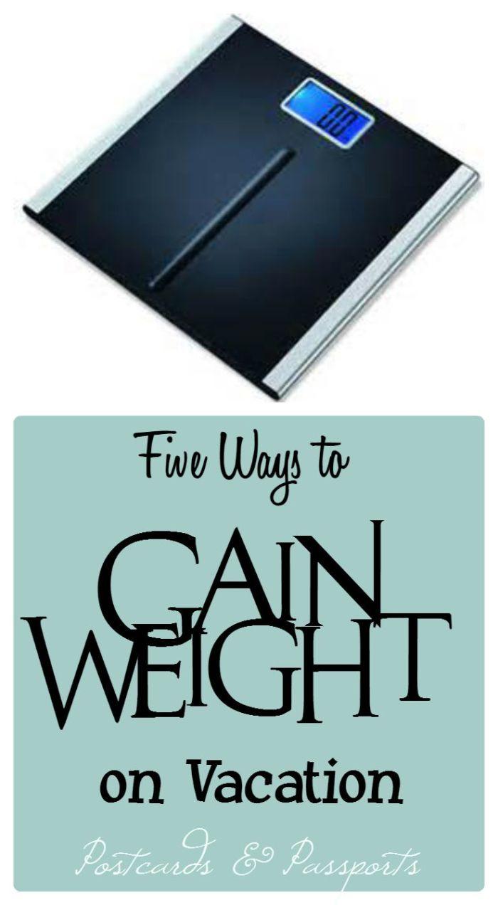 Five Ways Gain Weight