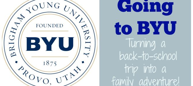 Going to BYU!!! What to Do & Where to Stay