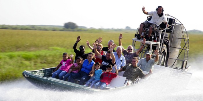 Boggy Creek Airboat Ride
