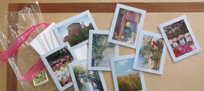 Using Travel Photos to Make Cards & Books