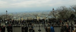 View from the front steps of Sacre-Coeur