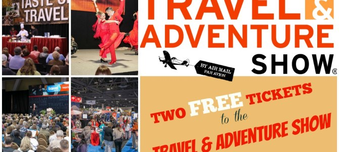 GIVEAWAY — Travel Show Tickets