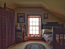 Cabrillo lighthouse bedroom