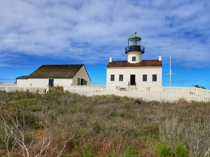 Cabrillo historic lighthouse