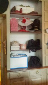 Colonial Williamsburg shelves
