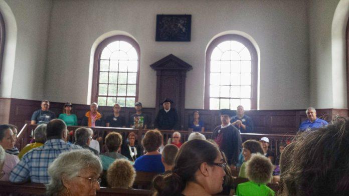 Colonial Williamsburg trial