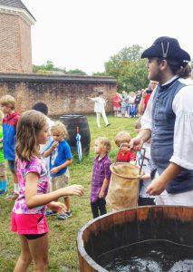 Colonial Williamsburg water brigade