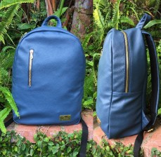 luggage blue backpacks