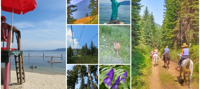 Northern Idaho Love: Schweitzer Mountain and Sandpoint