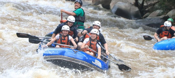 Whitewater Rafting in Chiang Mai, Thailand: Unique Family Holiday