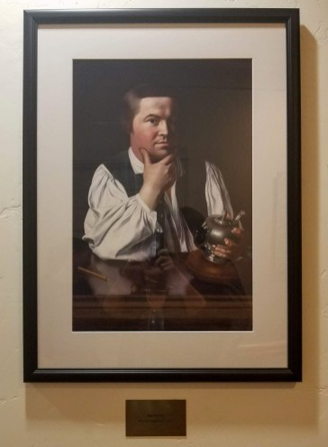 painting Paul Revere