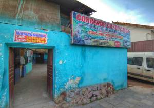 Cusco colectivo station