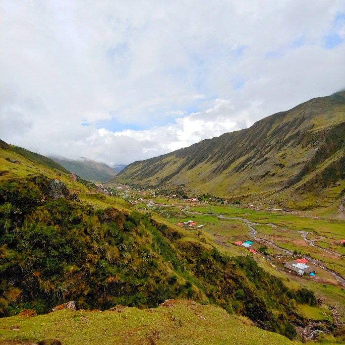 Views from Lares Trek