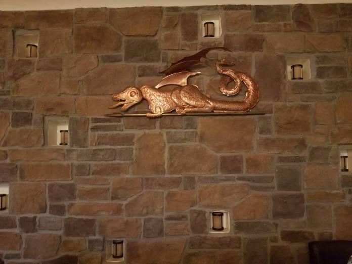 Green Dragon Tavern sign
