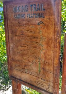 sign for Machu Picchu