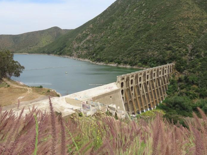 Lake Hodges dam