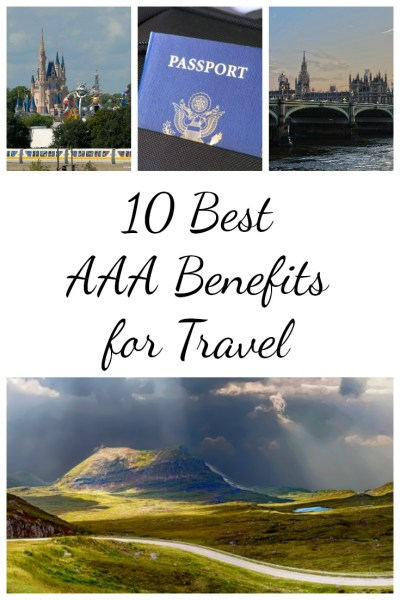 10 Best AAA Benefits for Travel - Postcards & Passports