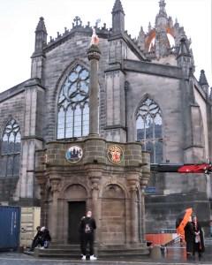 Mercat Cross of Edinburgh