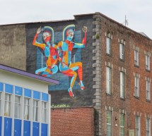 mural on building
