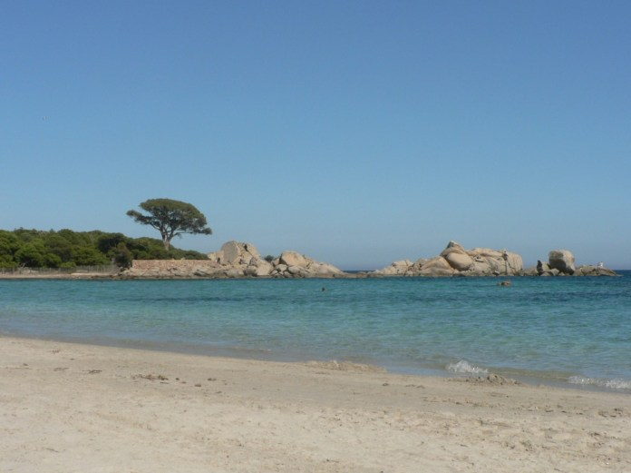 beach in southern France