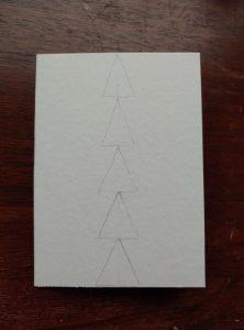 Pencil sketch of trees