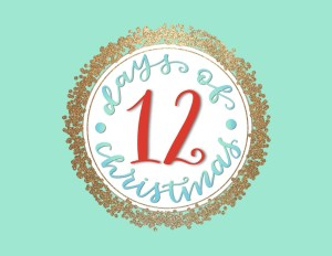 12 days of Christmas logo