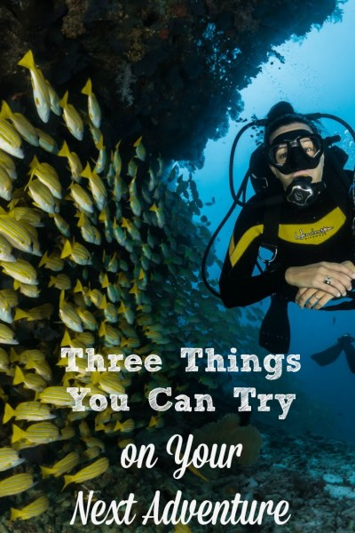 Three Things You Can Try