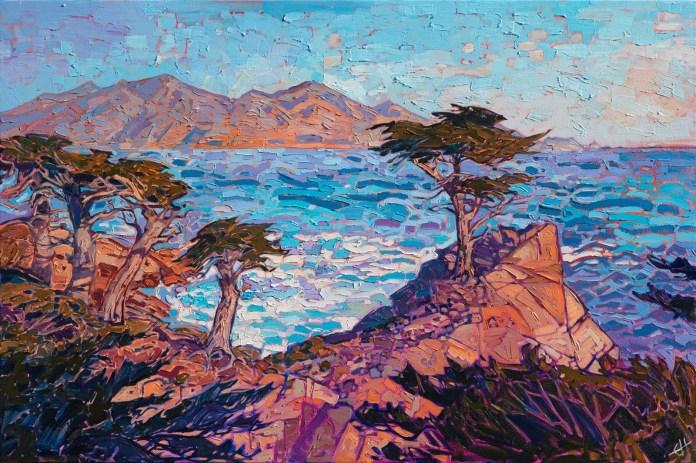 Lone Cypress Erin Hanson