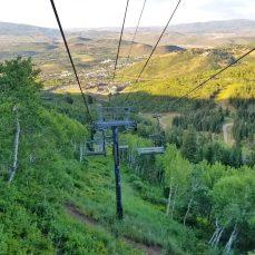 chair lift at Park City