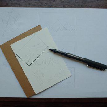 add black ink outlines