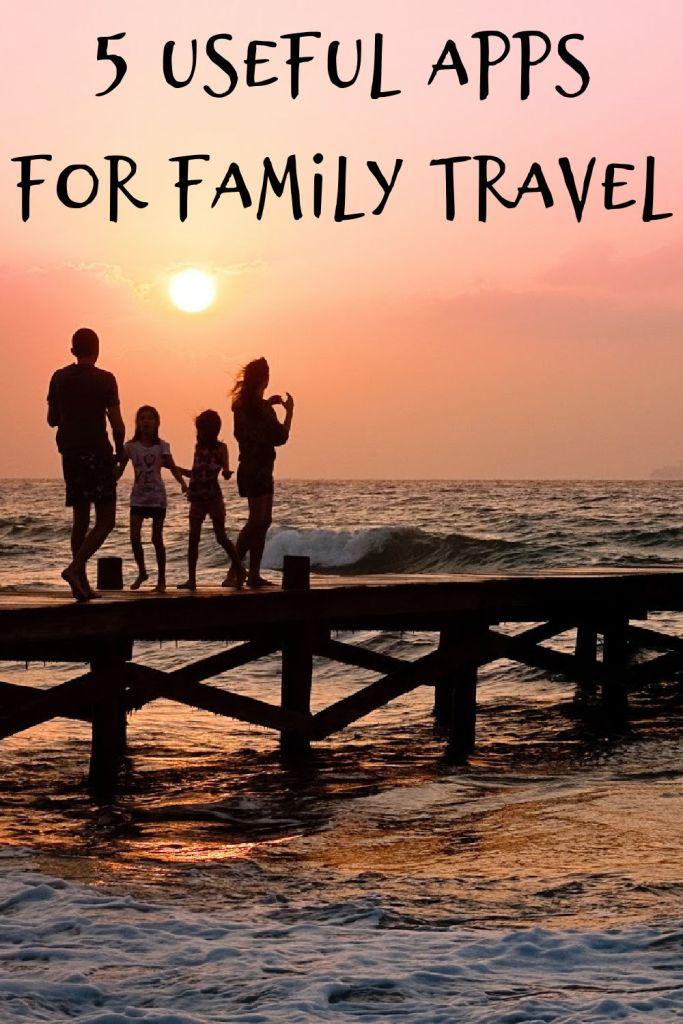 apps for family travel