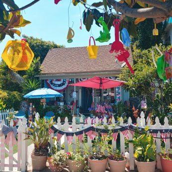 patriotic home on Coronado