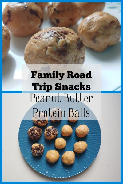 family road trip snacks