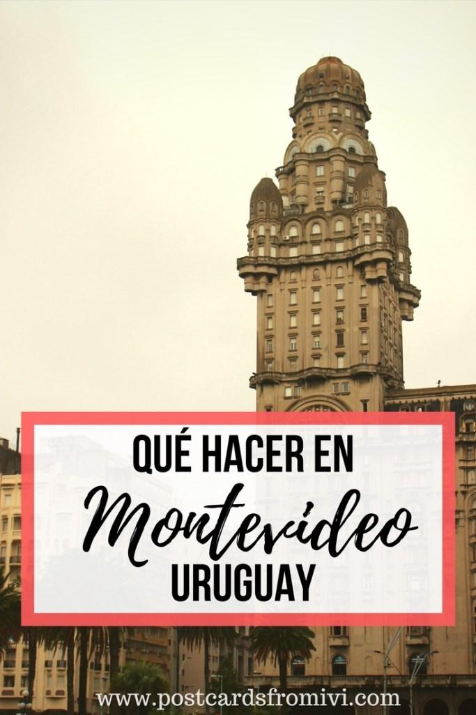 5 lugares para visitar en Montevideo Uruguay
