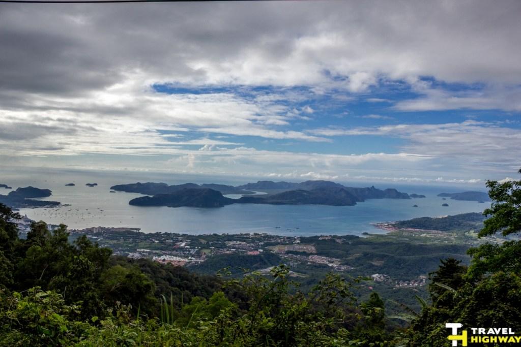 Langkawi's Panorama from Gunung Raya