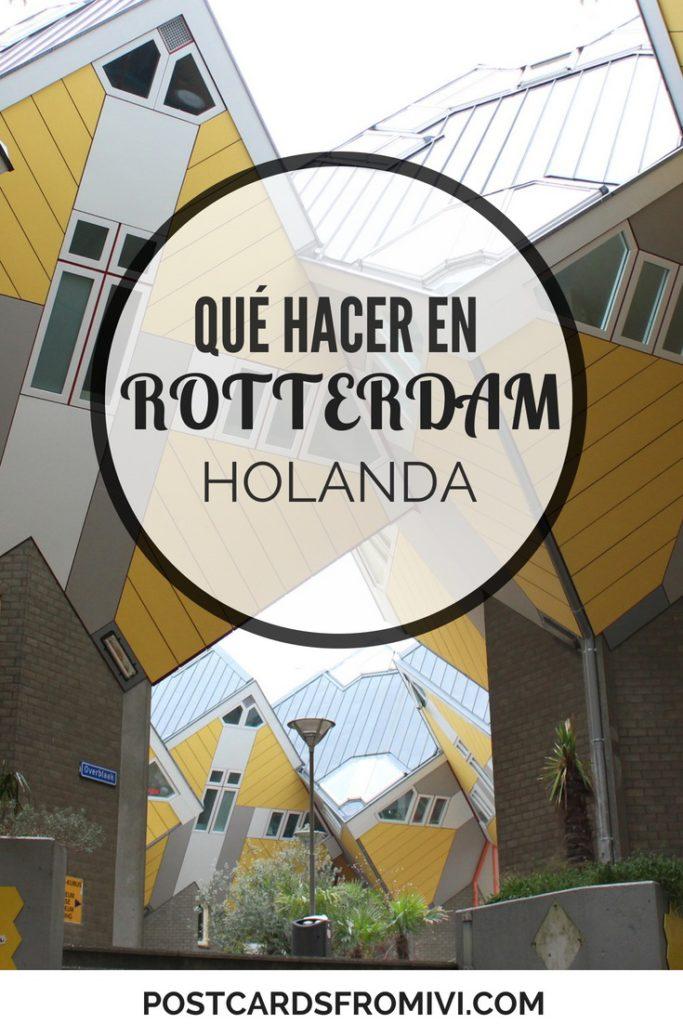 Qué hacer en Rotterdam en un día