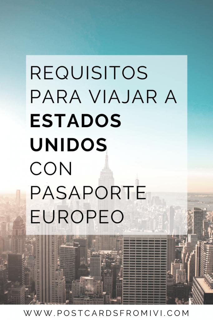 Viajar a EEUU con pasaporte europeo - Argentinos con doble ciudadanía