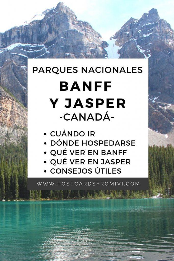Guia para visitar el parque nacional Jasper en Canada