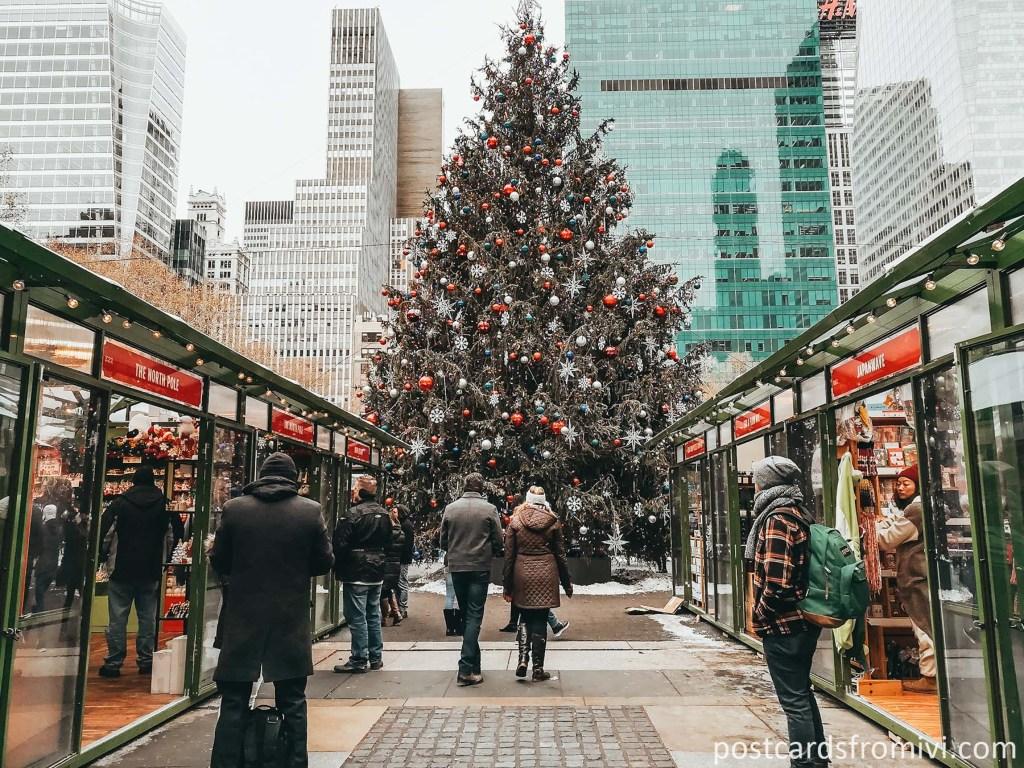 Consejos para pasar navidad en nueva york
