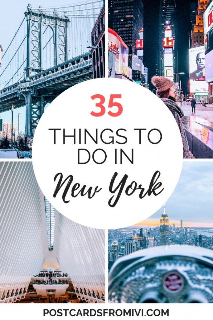 Best things to do in New York