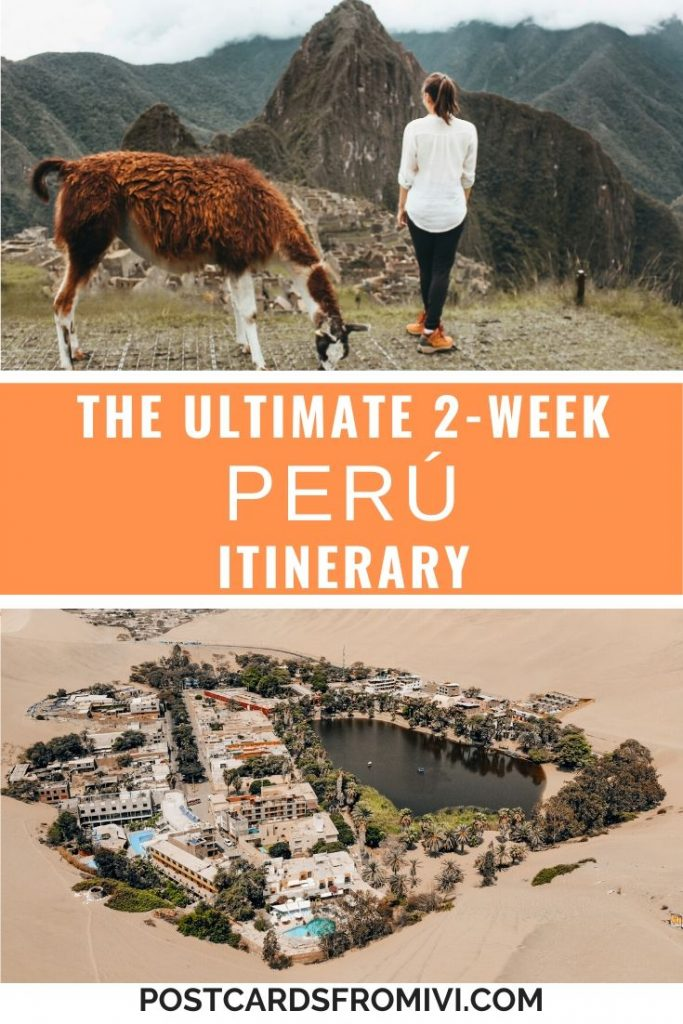 2 weeks in Peru Itinerary