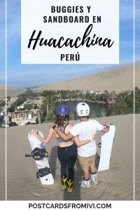 Tour de buggies y sandboard en Huacachina