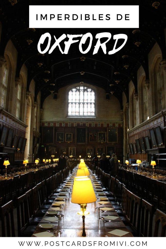 Cómo ir a Oxford desde Londres