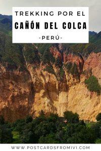 Trekking por el Cañon del Colca por libre o en tour